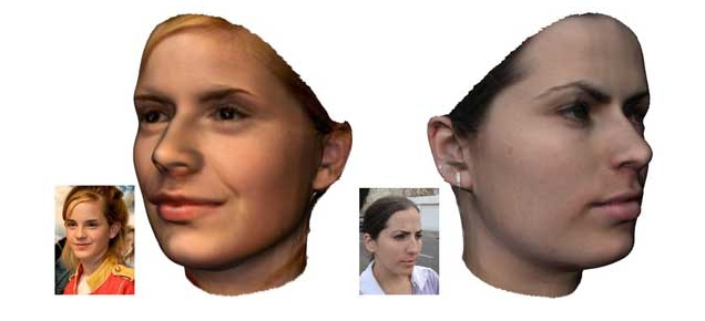 Realistic 3D Avatars, the Easy Way